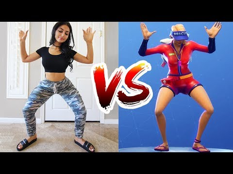 FORTNITE DANCE CHALLENGE IN REAL LIFE (WITH SISTER)