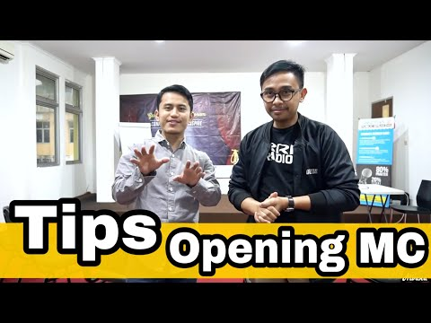 OPENING MC #TipsMC #1  -  Alan &  Fauzi