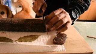 牛肉を部屋干しして3日目・岡山県津山市では一般的なんですか?
