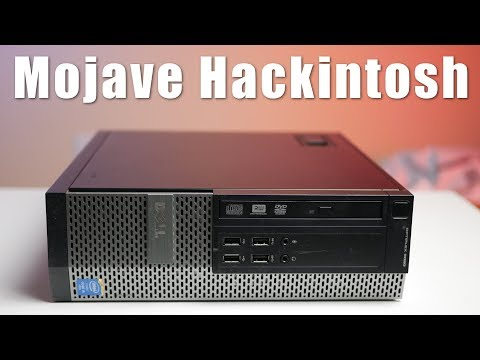 Another cheap Hackintosh - Mojave on an Optiplex 9020