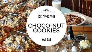 CHOCO-NUT COOKIES RECIPE! - Kid Approved!