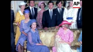 THE ROYAL CHRISTENING - PRINCE WILLIAM OF WALES - COLOUR - NO SOUND