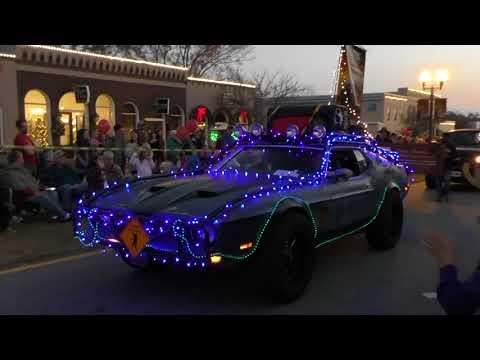 Senoia Georgia 2017 Christmas Celebration in the town of The Walking Dead