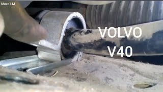 Volvo V40. Замена втулок стабилизатора.