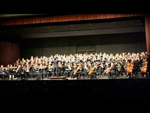Ohio University Women's Ensemble, Singing Men of Ohio, and Symphony Orchestra