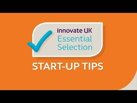 Innovate UK's essential tips for start-ups