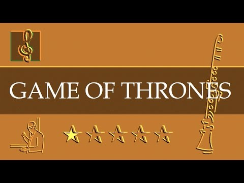 Clarinet Notes Tutorial - Game Of Thrones - Theme (Sheet Music)