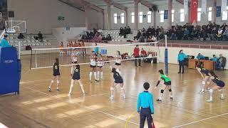 FENERBAHÇE - ECZACIBAŞI Küçük Kızlar Voleybol Maçı. 1.SET (22.12.2018)