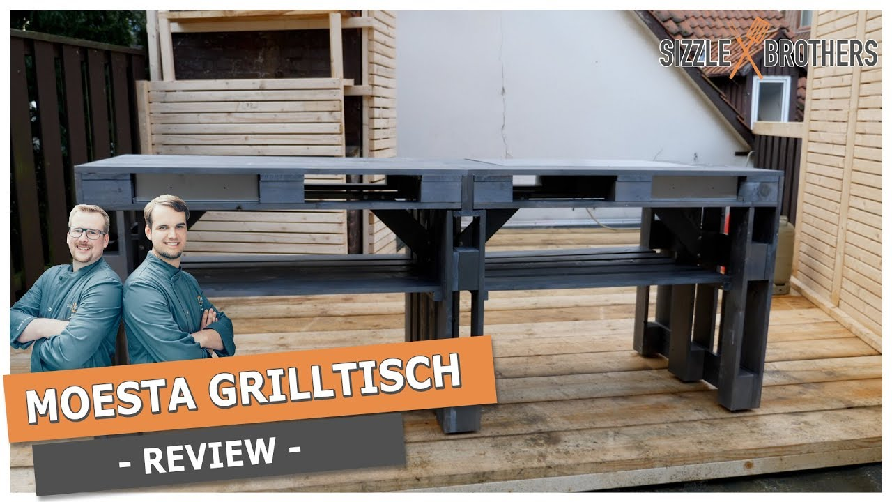 Outdoorküche Weber 57 : Moesta grilltisch review outdoorküche youtube