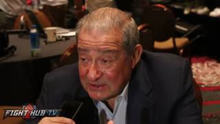 Bob Arum on why we don't see anymore great American heavyweights