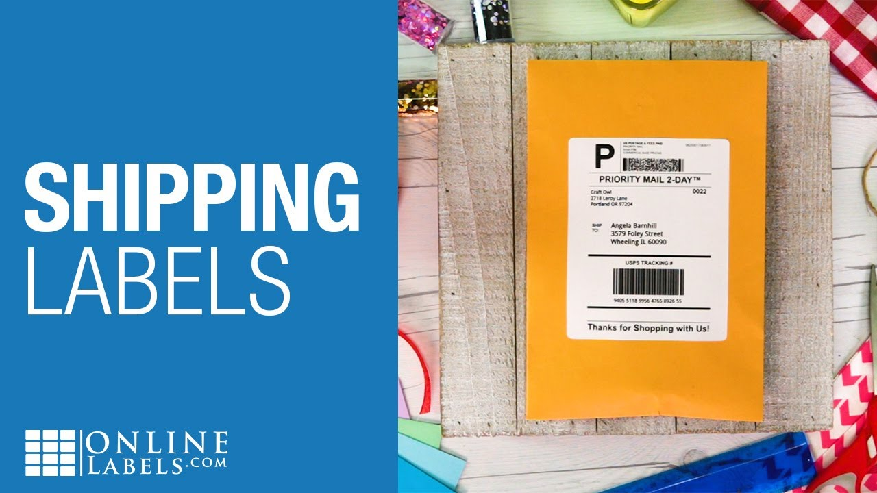 Shipping Labels - Shop Printable Shipping Labels on Sheets