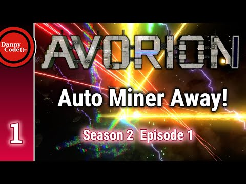 Avorion Season 2 Episode 1: Auto Miner Away! #Avorion || Gameplay/Playthrough/Tutorial
