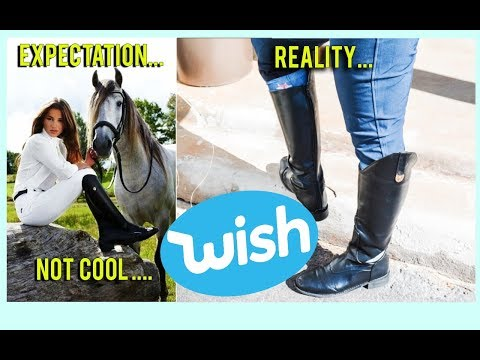 I Bought Tall Riding Boots From Wish - I Wish I Didn't