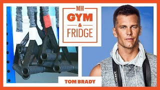 Tom Brady Shows His Gym and Fridge  | Gym & Fridge | Men's Health