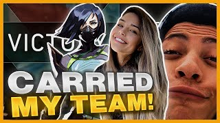 I NEVER CARRIED THIS HARD BEFORE Ft. Myth, LilyPichu, Sykkuno and more