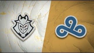 G2 vs C9 - Campeonato Mundial 2019 S3D9P6 - Grupos