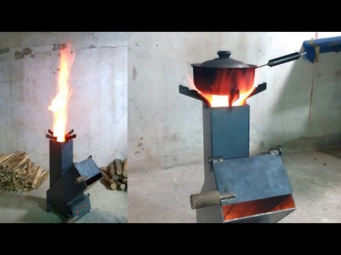 30 new rocket stove youtube for Best rocket stove design ever