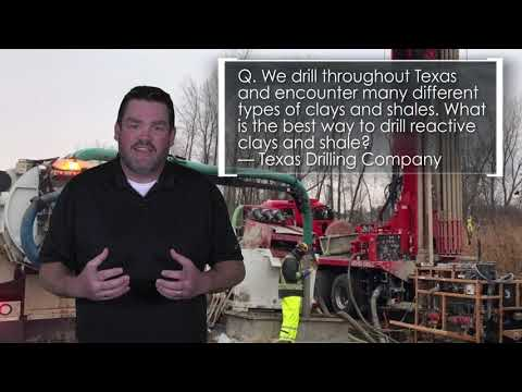 Clay and Shale Drilling