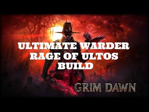 Grim Dawn] Ultimate Warder - Rage of Ultos Build - PakVim net HD