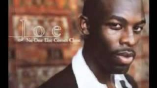 Joe - No one else comes close - (karaoke/ instrumental/ minus one) without backing vocals