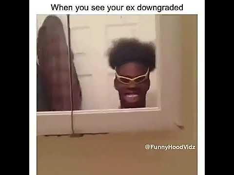 When your ex downgrades