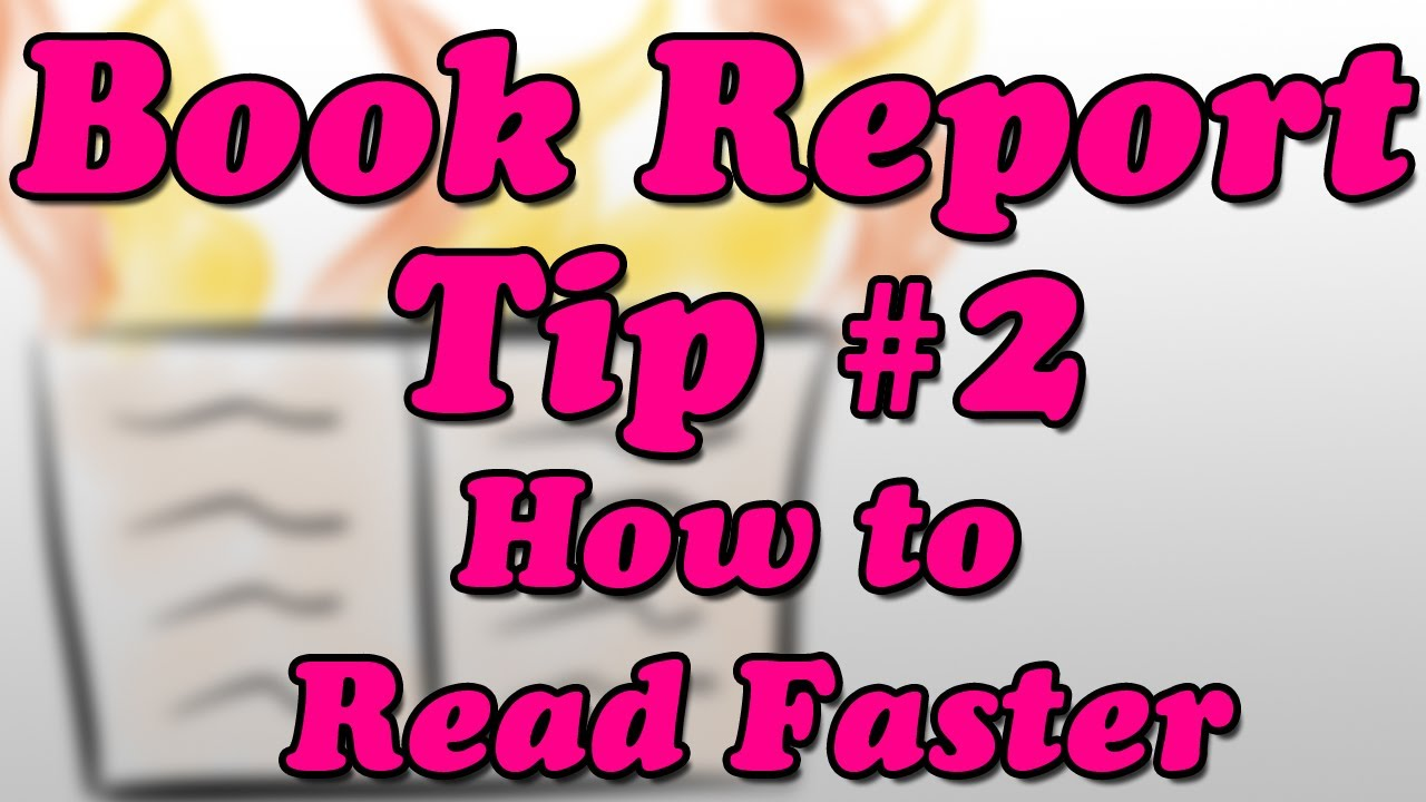 how to write a book report tip how to faster minute  how to write a book report tip 2 how to faster minute book report