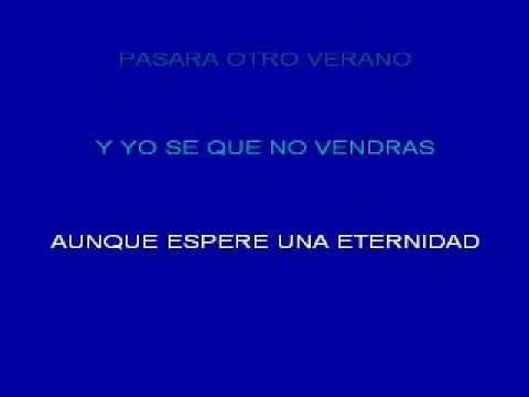 Verano Sin Tu Amor - karaoke - by Marcello De Ferrari -