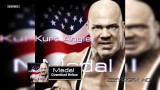 "WWE: Kurt Angle 1st Theme Song - ""Medal"" (V2) + Download Link"