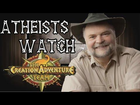 Atheists Watch Creation Adventure Team