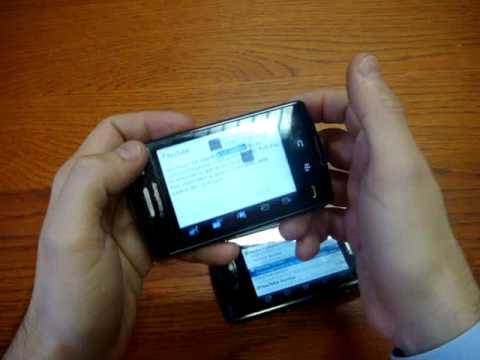 BlackBerry Storm 2 9520 vs Storm 1 9500 Cellulare-Magazine.it (Ita)