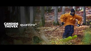 Candide Thovex – quattro®(Candide Thovex doesn't wait for winter. *IMPORTANT Please only use and share this embed code of the official video. Third party downloads and distribution is ..., 2015-12-08T16:00:56.000Z)
