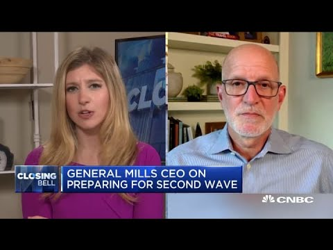 General Mills CEO talks about the surge in demand as people continue to stay at home