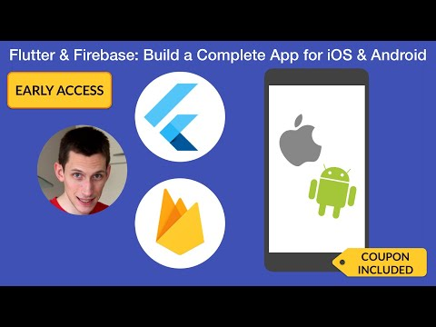 Flutter & Firebase Udemy Course - Early Access + Discount Code