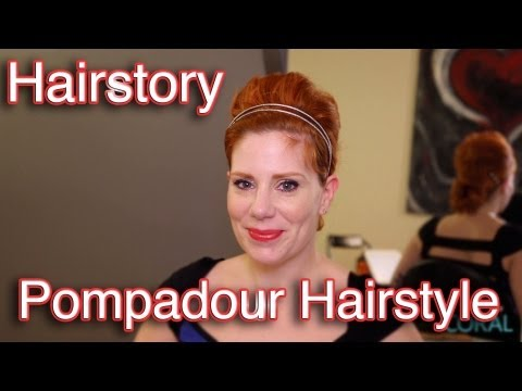Hairstory: How to Create A Pompadour Hairstyle