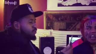 6ix9ine - I ain't playing with a wannabe tuff ni🅱️🅱️a (Snippet)