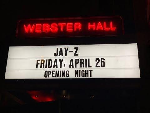 Jay-Z At Webster Hall