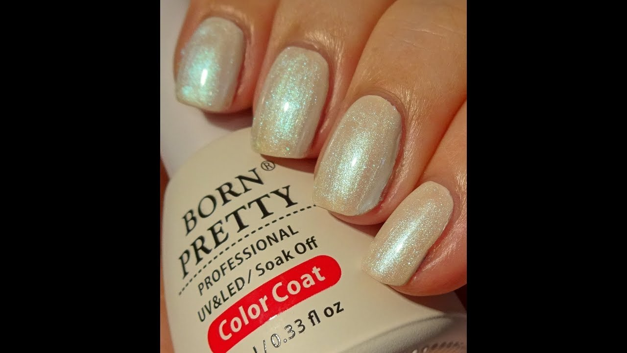 Born Pretty Store Pearl Lustre UV Gel Nail Polish - Jade Sky - YouTube