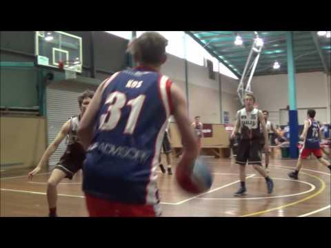 Matthew Collins #20 Ballarat tournament Geelong Supercats vs Craigieburn Eagles 2015