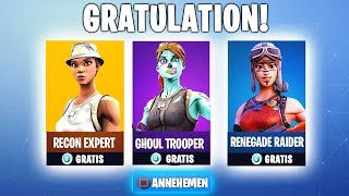 ALL OG Season 1 SKINS FREE IN Fortnite! (Ghoul Trooper, Recon Expert) and more!