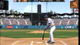 MLB 2K9 Giants vs. Dodgers Pt.1