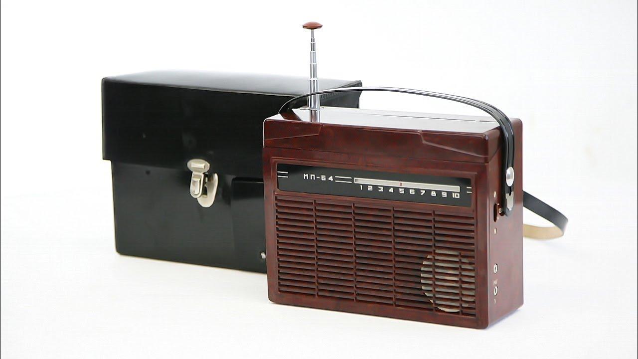 Радиоприёмник АВ-75. Радио для Чайки. FM 88-108 MHz. - YouTube