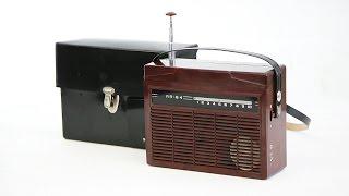 Обзор Радиоприемник МП-64 (Синичка) СССР 1967 год