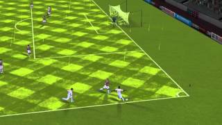 FIFA 13 iPhone/iPad - Fluminense vs. Santos