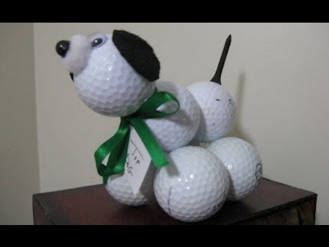 Bon Golf Ball Poodle Craft Easy Fun And Perfect For Fatheru0027s Day!