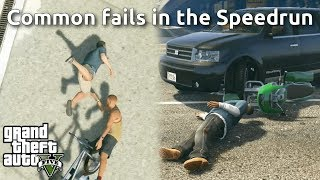 The Most Common Fails in GTAV Speedruns #1