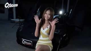 Repeat youtube video Option改裝車訊五月號封面女郎~小雪+麥拉倫50周年紀念款
