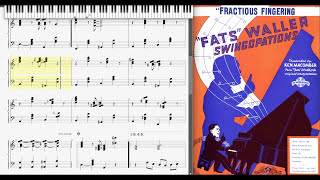 Fractious Fingering by Fats Waller (1938, Jazz piano) | RagtimeDorianHenry