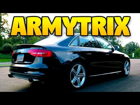2014 AUDI S4 ARMYTRIX EXHAUST (B8.5 VALVETRONIC)