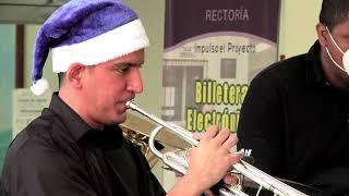 UTP Brass interpreta Feliz Navidad.