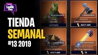 #13 TIENDA SEMANAL: HIBRIDO, FOGATA, CONDENADOR | FORTNITE SALVAR EL MUNDO | GUIA ESPAÑOL